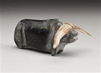 musk-ox by john kavik