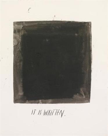 untitled it is written by raymond pettibon