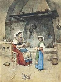 winding yarn by publio de tommasi