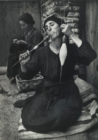 selected images from spanish village (2 works from w. eugene smith: a portfolio of ten photographs) by w. eugene smith