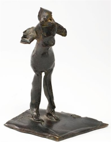 femme coq no 2 by germaine richier