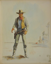 gunfighter by byron wolfe