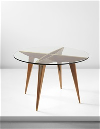 early center table (from a private commission) by gio ponti