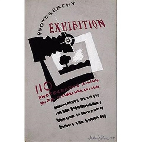Photography Exhibition Poster By Anthony Velonis