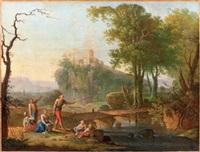 la pêche by jean baptiste charles claudot