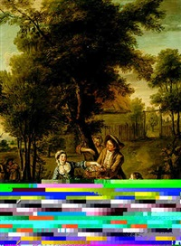 fete champetre by peter jan van (de engelschman) reysschoot
