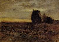 paesaggio al tramonto by amedeo ghesio volpengo