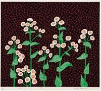 flowers(2) by yayoi kusama