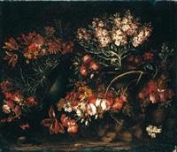 natura morta con fiori by giuseppe vicenzino