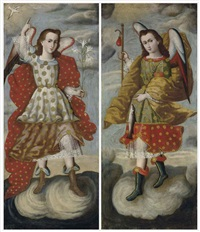 archangel gabriel (+ arcangel raphael; pair) by anonymous-mexican (18)