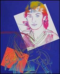wayne gretzky #99 by andy warhol
