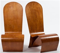 lounge chairs by herbert von thaden