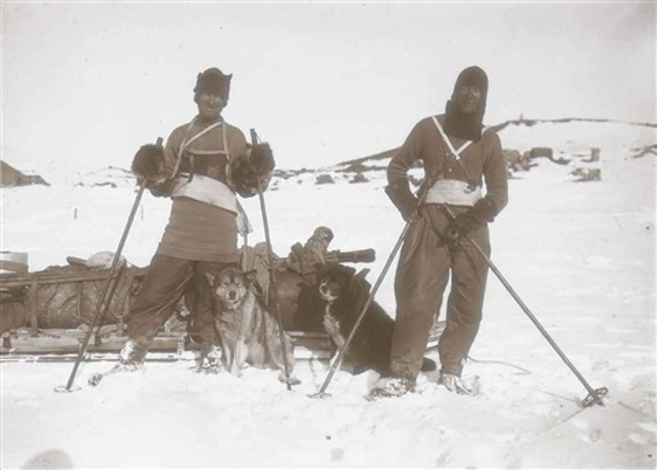 british antarctic expedition (38 works) by herbert george ponting