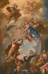 the triumph of hercules by domenico mondo