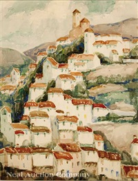 cuenca hillside by marie atkinson hull