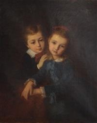 frère et soeur by edouard d' apvril