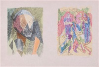 les bucoliques (portfolio of 23) by jacques villon