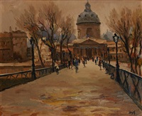 l'institut de france, paris by marcel dyf