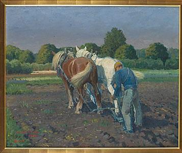 plöjande hästar by greta gerell