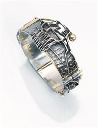 bracciale in argento e oro by giò pomodoro