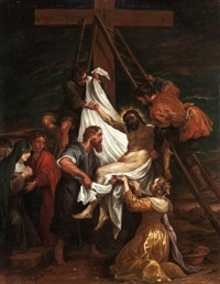 the descent from the cross by bassano family