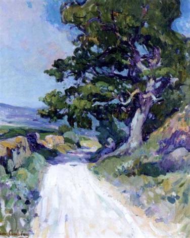 paysage du midi by jean aubrey
