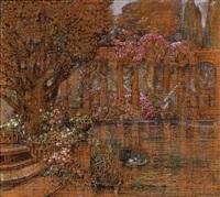 the temple of love in versailles by flora heilmann