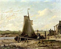 low tide by johan conrad greive