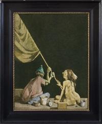 painting nr 848 by jerzy duda-gracz