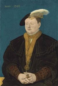 portrait of friedrich magnus i. von solms-laubach (1521-1561) by conrad (von creuznach) faber