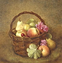 still life of fruit by hendrik jan (hans) van wyk