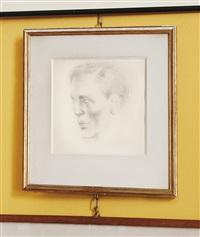 portrait d'alexis de redé by pavel tchelitchew