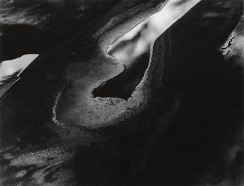 light mudpool capitol reef utah by minor white