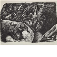 two heads by josé clemente orozco