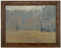 autumn landscape by william hurd lawrence