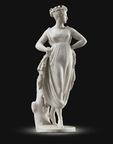 danzatrice con le mani sui fianchi dancer by antonio canova