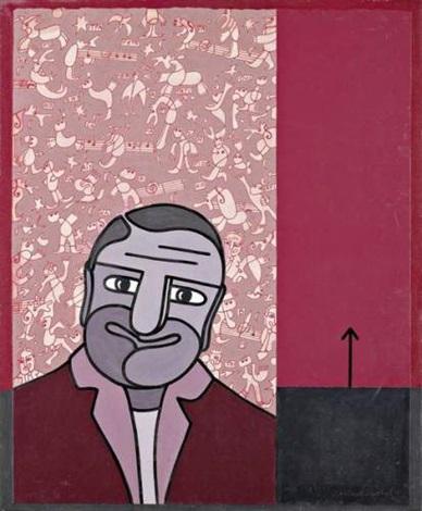 portrait reussi dun homme assez laid by gérard gasiorowski