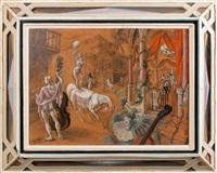 scène de cirque by mariano andreu