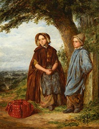 mother and son (+ father and daughter; pair) by william percy