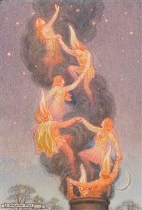 flame folk by norman ault