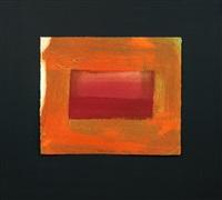 red print by howard hodgkin