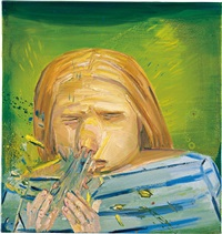 sneeze by dana schutz