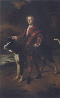 portrait of a gentleman (a member of the campbell family of breadalbane?) by jeremiah davison