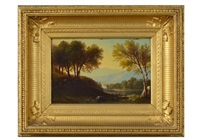 river in new hampshire by benjamin champney
