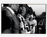 reportage nelson mandela (6 works) by david turnley
