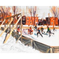 rink, east end by terry tomalty