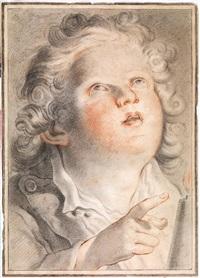 fanciullo al lume di candela by mauro gandolfi