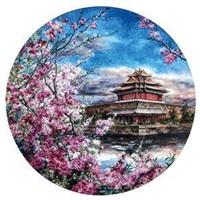 角楼近春 by jiang youqiao