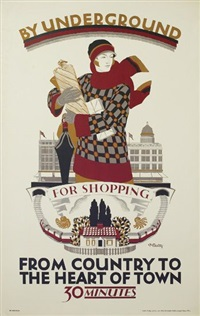 from country to heart of town/for shopping by dora m batty