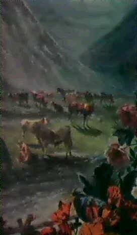 troupeau dans les alpages by vagh weinmann